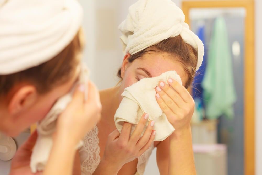 limpiar la piel para quitar granos
