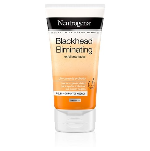 Neutrogena® Blackhead Eliminating Exfoliante Facial con Ácido Salicílico Purificante