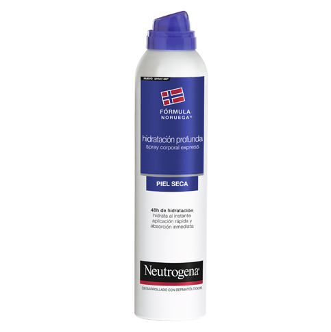Neutrogena® Spray Corporal Express Hidratación Profunda Piel Seca