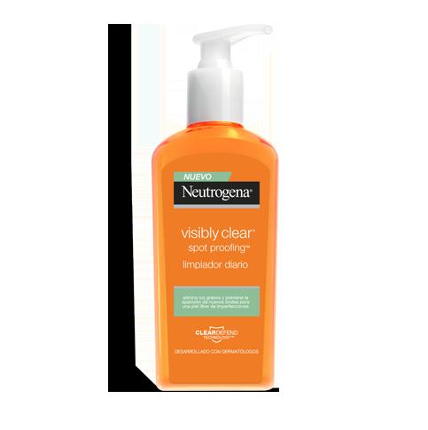 Neutrogena® Visibly Clear® Spot Proofing™ Limpiador diario