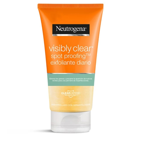 Neutrogena Visibly Clear Spot Proofing Exfoliante diario Oil free con ácido salicílico