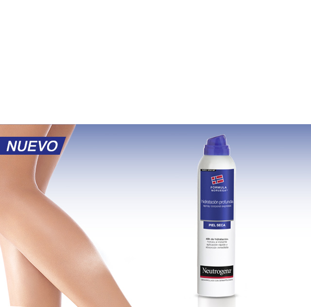 Neutrogena Spray Express. Descubre que es possible.